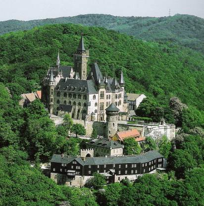 Cochem Castle Architecture. Towers And Stone Walls Stock Image - Image ...